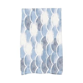 16 x 25 Inch Zircoland Geometric Print Hand Towel