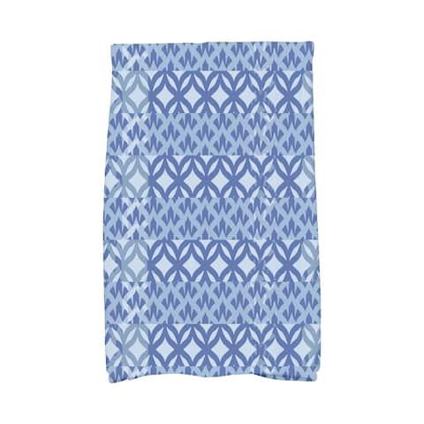 16 x 25 Inch Greeko Simple Geometric Print Hand Towel