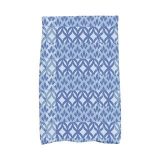 16 x 25 Inch Greeko Simple Geometric Print Hand Towel