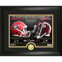 2018 CFPl National Championship Game Bronze Coin Photo Mint