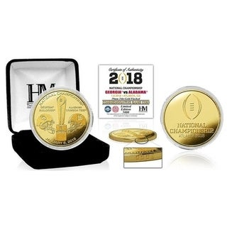 2018 CFP National Championship Dueling Gold Mint Coin