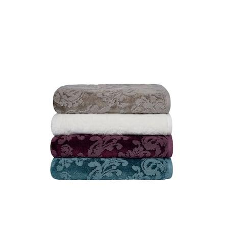 Sanderson Riverside Damask Jacquard Bath Towel
