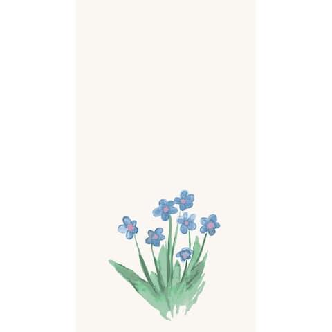 18 x 30 inch Pretty Little Flower Kitchen Towel