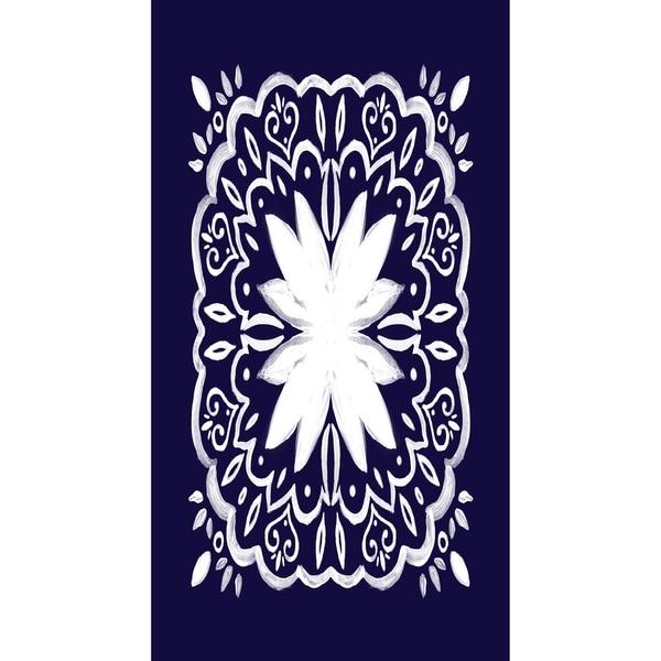 Shop X Inch Cuban Tile Geometric Print Kitchen Towel On - Cuban tile for sale