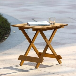 Hemlock Folding End Table