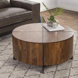 Raymond Round Coffee Table by Kosas Home