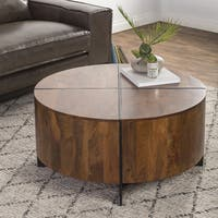 Raymond Round Coffee Table by Kosas Home
