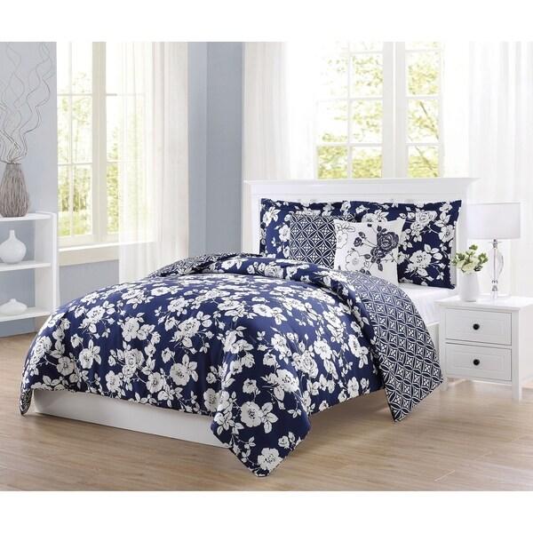 Boho Living Sherry 5-Piece Reversible Comforter Set