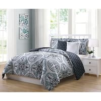 Boho Living Bailey 5-piece Reversible Comforter Set