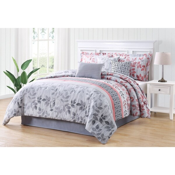 Carmela Home Breezy 7-piece Reversible Comforter Set