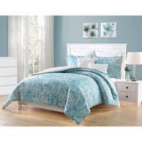 Carmela Home Finley PomPom 7-Piece Reversible Comforter Set
