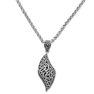 Handmade Sterling Silver 'The Quality of Love' Necklace (Indonesia)