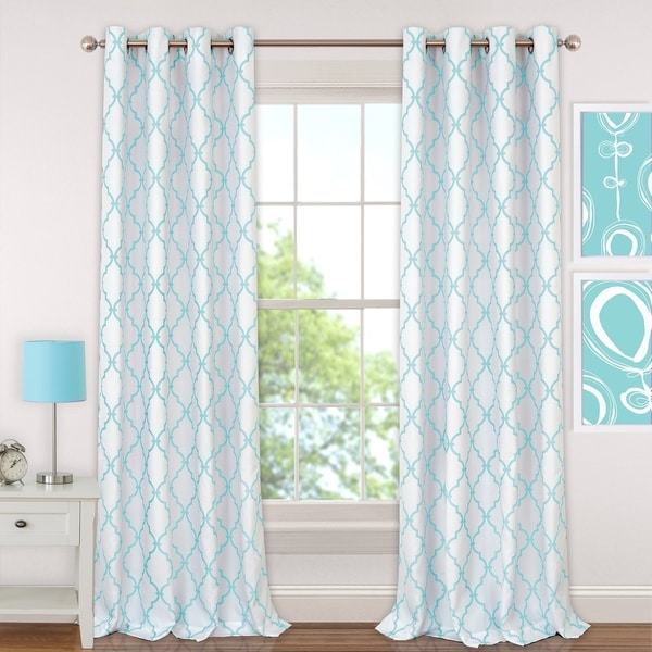Elrene Candice Blackout Juvenile Teen Window Curtain Panel. Opens flyout.