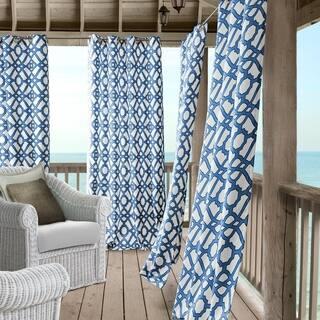Elrene Marin Indoor/Outdoor Grommet Window Panel