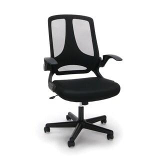 Model ESS-3045 Essentials Upholstered Flip-Arm Task Chair