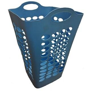 Tall Flex Square hamper-Blue 6/Case