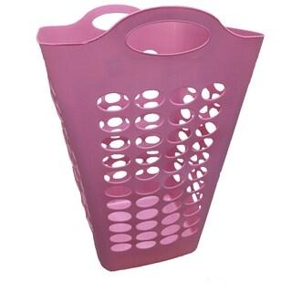 Tall Flex Square hamper-Pink 2 Pack