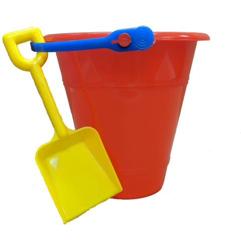 Sand Pail with Shovel, 2 pack