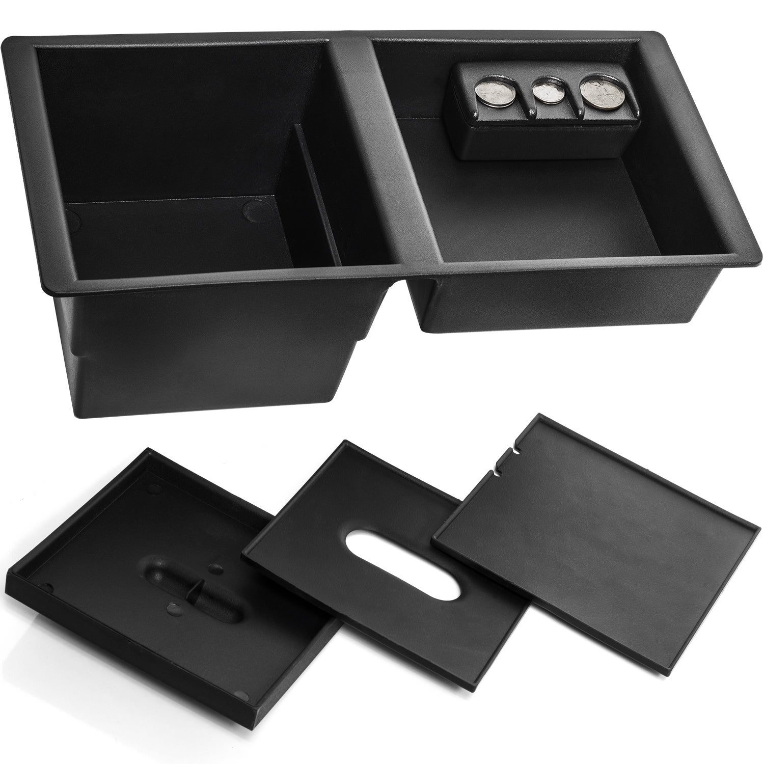 Oxgord Center Console Insert Tray for Select GM Vehicles ...