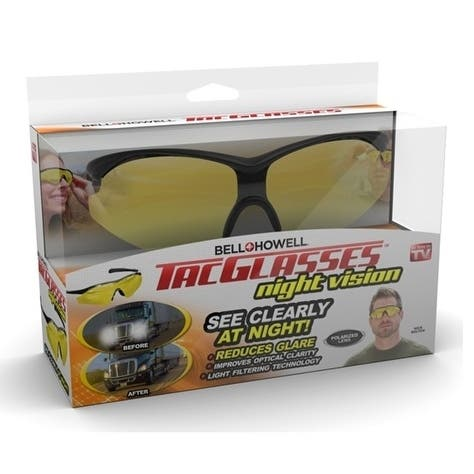 Bell Howell Tac Glasses Night Vision