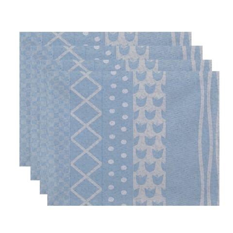 18 x 14 inch Pattern Stripe Placemat (set of 4)