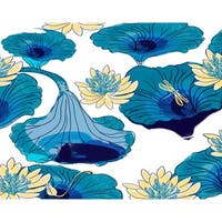 18 x 14 inch Lotokoi Floral Print Placemat (Set of 4)