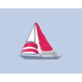18 x 14 Inch Sail Away Geometric Print Placemat (Set of 4)