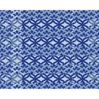 18 x 14 Inch Greeko Simple Geometric Print Placemat (Set of 4)
