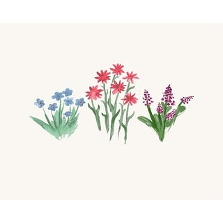 18 x 14 inch Flower Trio Placemat (set of 4)