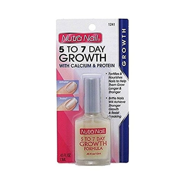 Shop Nutra Nail 5 to 7 Day Growth with Calcium and Protein - Free ...