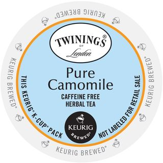 Twinings of London Pure Camomile Tea, K-Cups for Keurig Brewers 96 Count