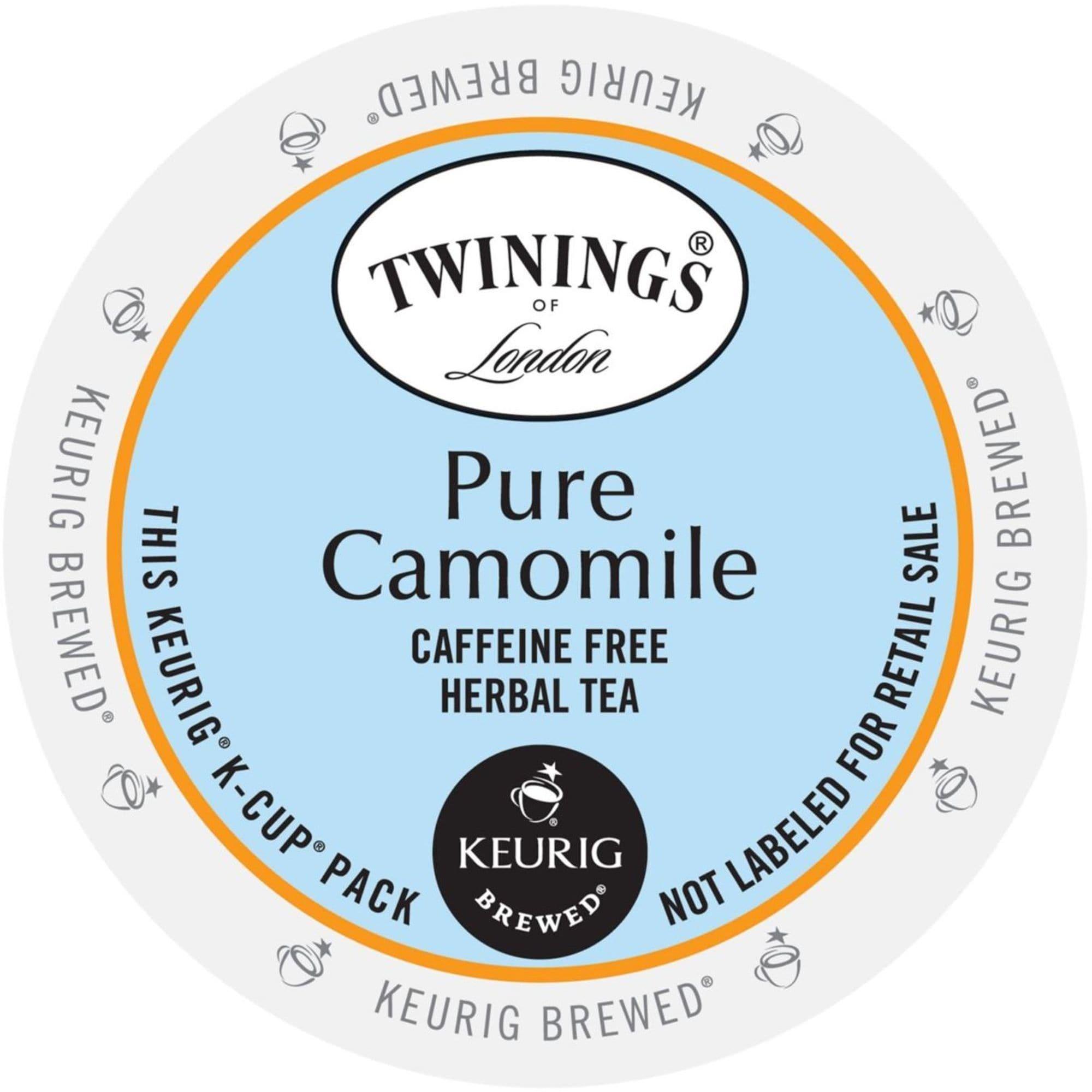 Twinings of London Pure Camomile Tea, K-Cups for Keurig B...
