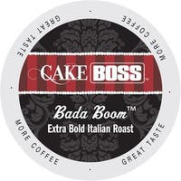 Cake Boss Bada Boom Italian Roast, Extra Dark And Bold, Single Serve Coffee Cups for Keurig K-Cup Brewers 24 Count