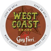 Guy Fieri West Coast Traditional Dark, Big and Bold Kosher Certified Single Serve Coffee Cups for Keurig Brewers 24 Count