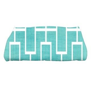 28 x 58 inch Screen Lattice Geometric Print Bath Towel