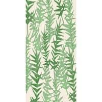 30 x 60 Inch Spikey Floral Print Bath Towel