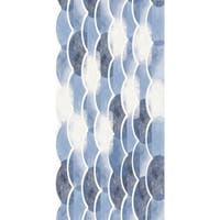 28 x 58 Inch Zircoland Geometric Print Bath Towel