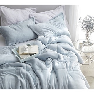 BYB Coma Inducer Frosted Pacific Blue Comforter