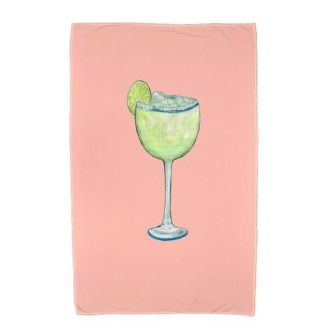 36 x 72 inch Margarita Plain Geometric Print Beach Towel