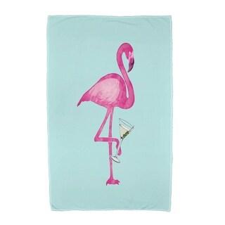 30 x 60 inch Single Flamingo Animal Print Beach Towel