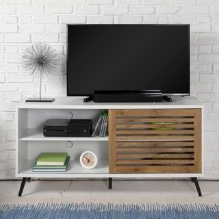 Link to Carson Carrington Saltor Sliding Door TV Console Similar Items in TV Consoles