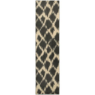 Style Haven Old World Tribal Ivory/Brown Area Rug (2'7 x 10')