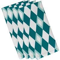 19 x 19 inch Harlequin Geometric Print Napkin (set of 4)