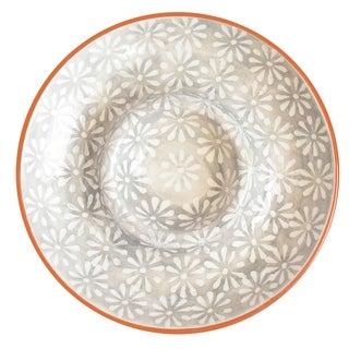 Euro Ceramica Margarida Chip and Dip Platter