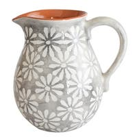Euro Ceramica Margarida 2 Liter Pitcher