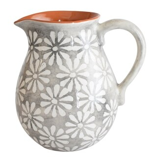Euro Ceramica Margarida 2 Liter Pitcher