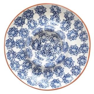 Euro Ceramica Azul Tile Chip and Dip Platter