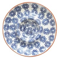 Euro Ceramica Azul Tile Chip and Dip Platter
