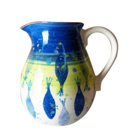 Euro Ceramica Pescador 2 Liter Pitcher