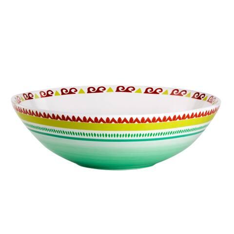 Euro Ceramica Alecante 12.75-inch Serving Bowl